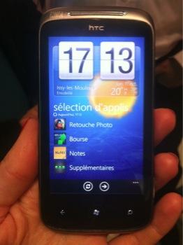 HTC 7 Mozart : en exclusivité chez Orange