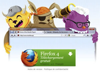 Firefox 4 est disponible en version finale