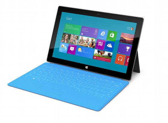 Microsoft présente sa tablette Surface