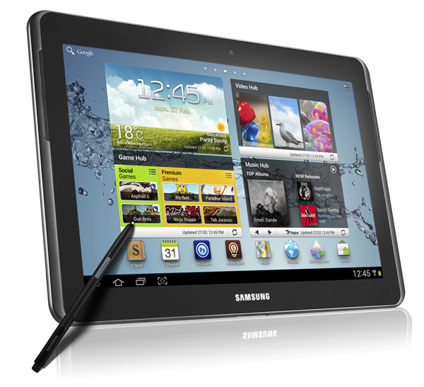Samsung : la Galaxy Note 10.1 pour narguer Apple