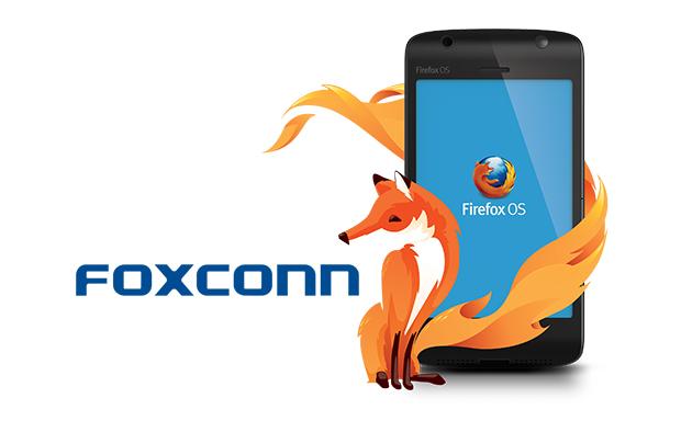 Firefox OS : soutien inconditionnel de Foxconn