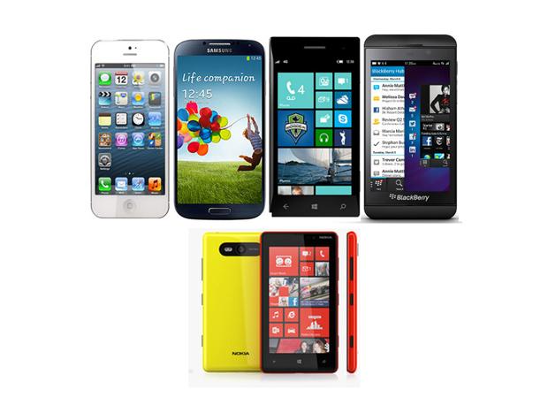 Smartphones : si Samsung, LG et Sony rient, la concurrence pleure !