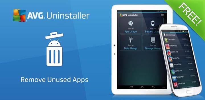 Android : AVG Uninstaller pour mettre de l'ordre dans ses applications