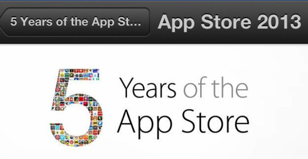 App Store : 10 applications gratuites pour fêter ses 5 ans