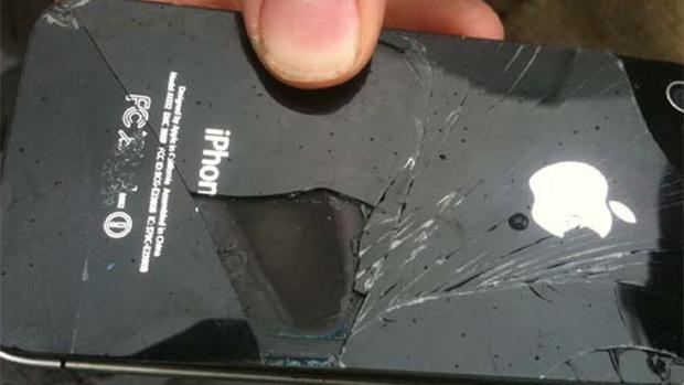 Explosion : après un Galaxy S3, c'est un iPhone 4