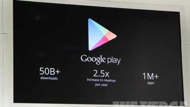 Google Play : déjà plus de 1 million d'applis
