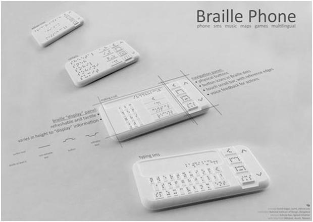 Technologie : bientôt des smartphones spécifiques pour les aveugles ?