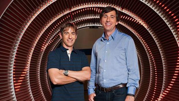 Mark Pincus, le fondateur de Zynga (à gauche) et Don Mattrick.