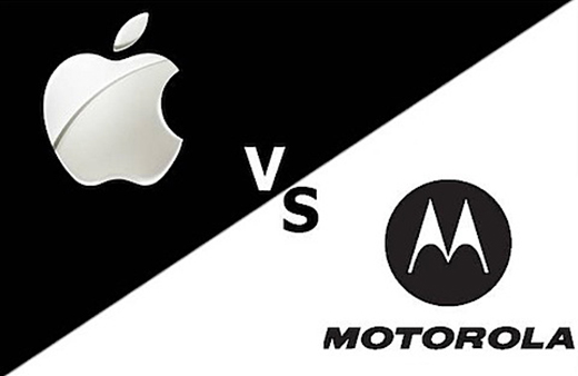 Apple vs Motorola : accord autour de 14 brevets