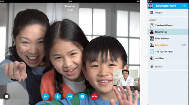 iOS : Skype passe à la HD
