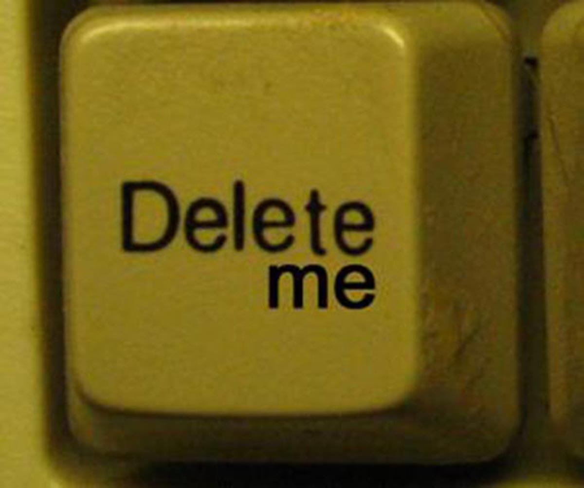 Just Delete Me : la solution pour ceux qui rêvent de disparaitre d'internet