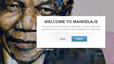 mandela.is : le réseau social Nelson Mandela