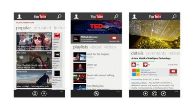 Windows Phone Store : retour de YouTube