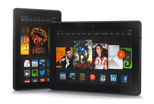 Amazon dévoile de nouvelles tablettes Kindle Fire HDX