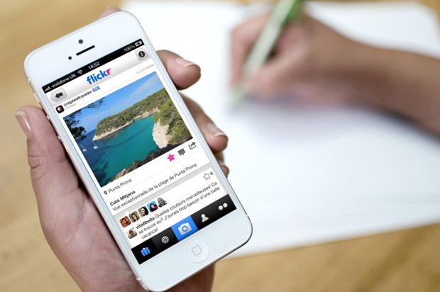 Flickr : place aux filtres photo