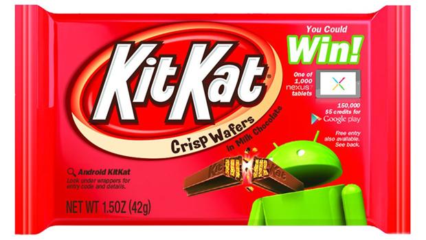 Google : Android 4.4 passera par la barre chocolatée