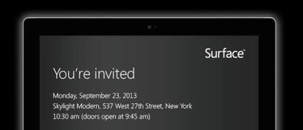 Microsoft : nouvelles tablettes « Surface » pour le 23 septembre ?