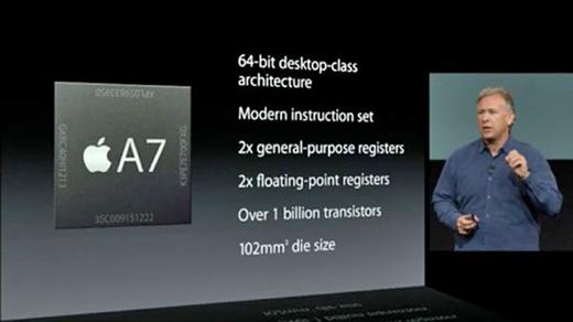 Le processeur A7 de l'iPhone 5S est fabriqué par Samsung