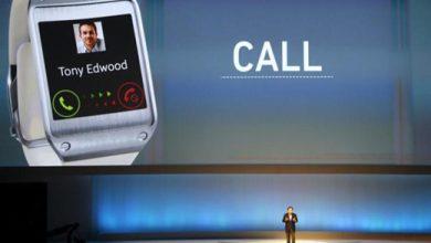 Samsung a présenté la Galaxy Gear, un modèle de montre connectée