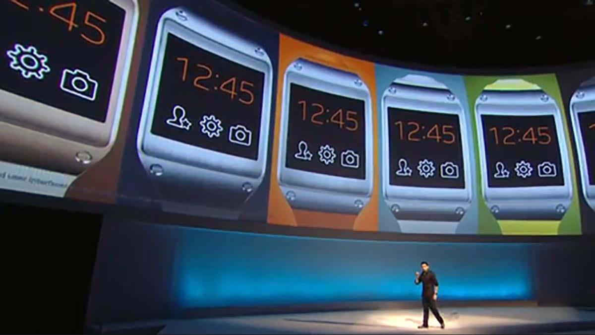 Samsung Galaxy Gear : 12 applications disponibles au lancement de la montre
