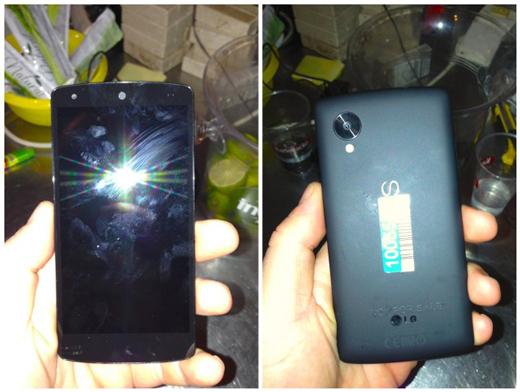 Nexus 5, le futur smartphone de Google en approche