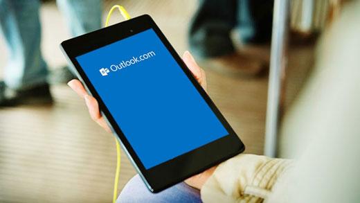 Microsoft : mise à jour d'Outlook.com sous Android