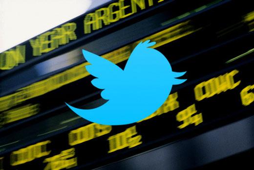 Twitter entre en Bourse malgré ses pertes en 2012 !