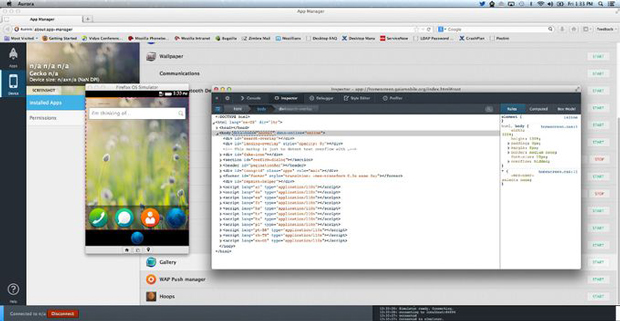 Mozilla dévoile Firefox OS App Manager