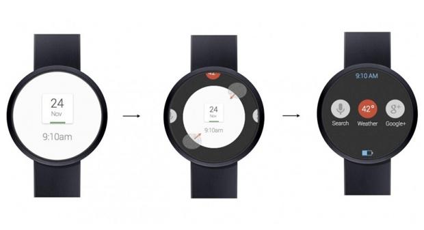 Google : bientôt une montre connectée Nexus ?