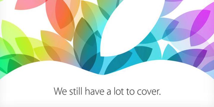 L'invitation envoyée par Apple à la presse.