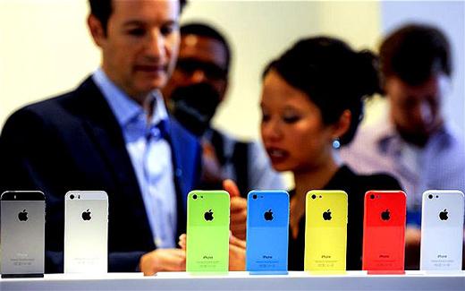 Apple freine la production d'iPhone 5c