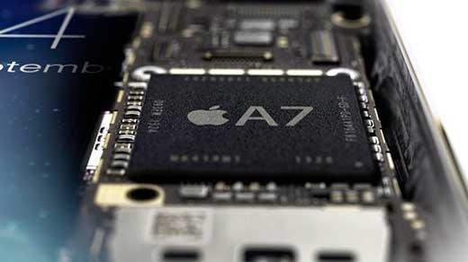 """L'A7 d'Apple, """"un gadget marketing"""" pour un cadre de Qualcomm"""