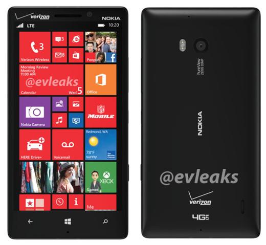 Nokia Lumia 929 : le nouveau smartphone de Nokia fuite en image