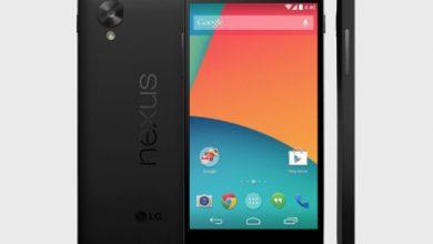 Le Nexus 5 ajouté au Google Play à 349 dollars