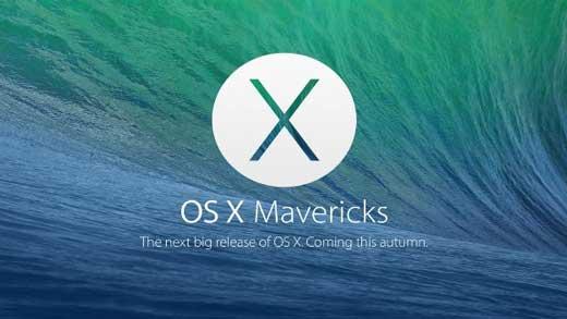La Gold Master d'OS X Mavericks est disponible