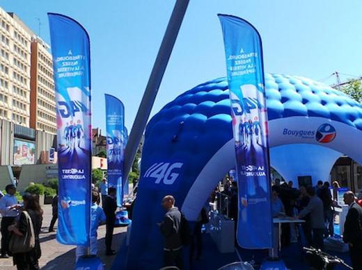 4G : Bouygues Telecom en tête du déploiement d'antennes