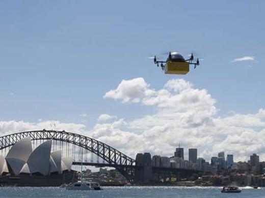 Les drones livreurs débarquent en Australie