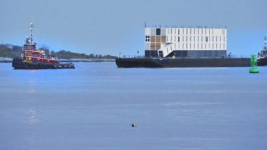 Google lève le voile sur sa barge californienne