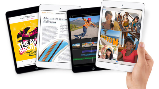 iPad Mini Retina : peu de tablettes disponibles jusqu'en 2014