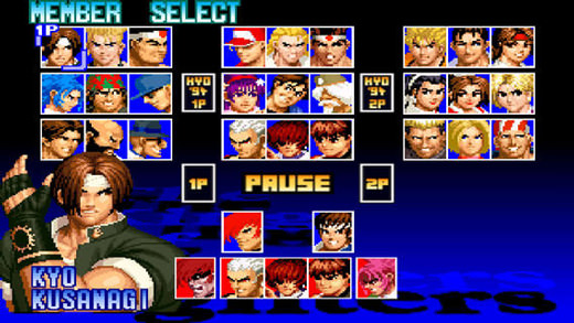 King of Fighters '97 sur iOS