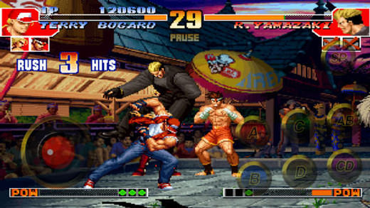 Jeux : King of Fighters '97 sur iOS