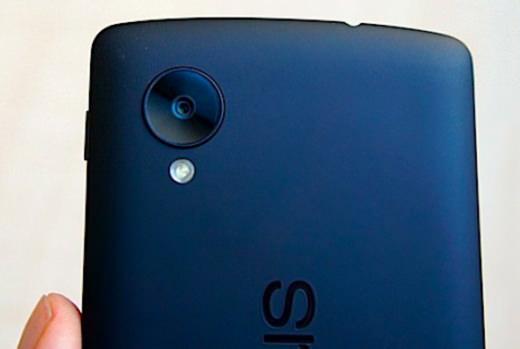 Nexus 5 : se consacrer sur le capteur photo