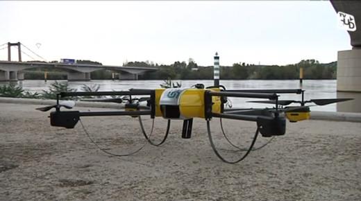 Des drones surveilleront bientôt les lignes SNCF
