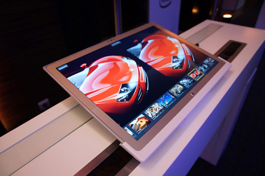 ToughPad 4K, une tablette de 20 pouces avec une définition atypique de 3840 x 2560 pixels