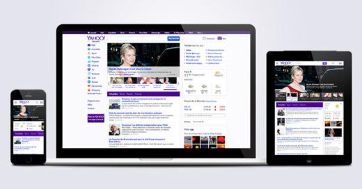 Yahoo ! : nouvelle version du portail mise en ligne