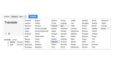 Google ajoute des langues asiatiques et africaines à Google Traduction