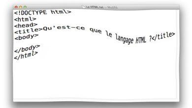 Qu'est-ce que le HTML ?