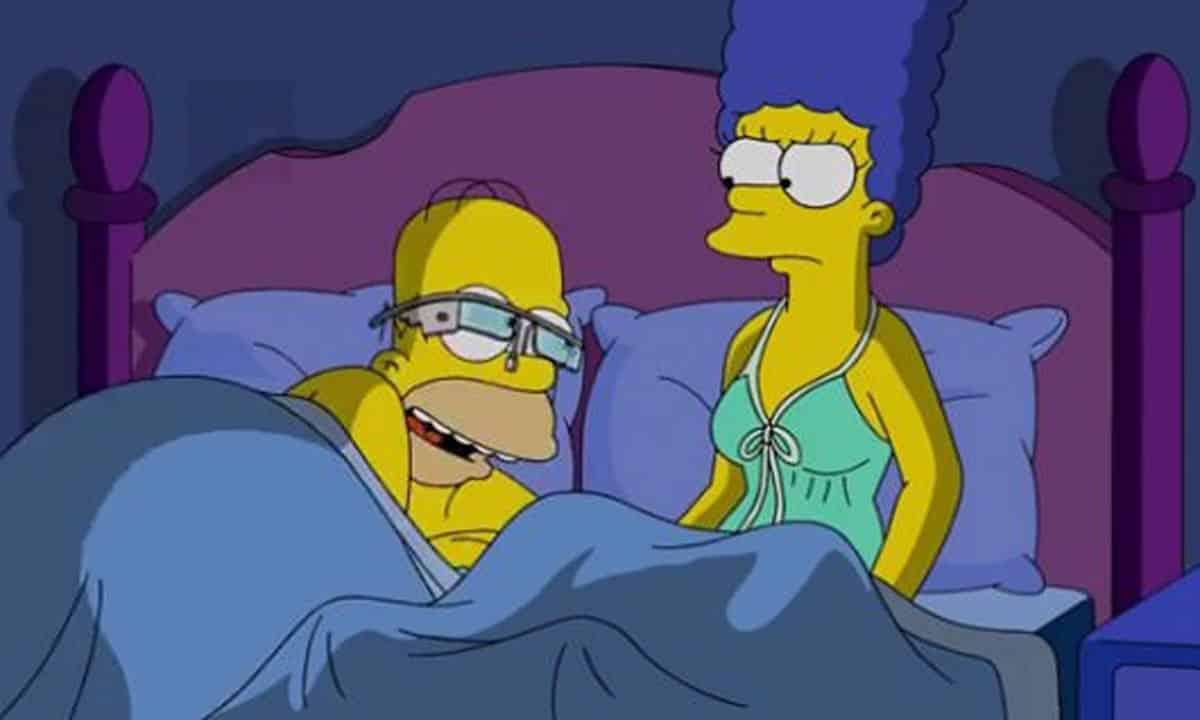 Gogol Glass : Homer Simpson a testé les lunettes Google