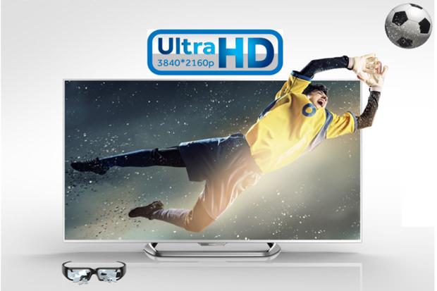 … et même un TV 4K 3D sans lunette