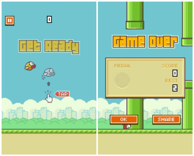 L'application à succès Flappy Bird retirée de l'App Store et de Google Play